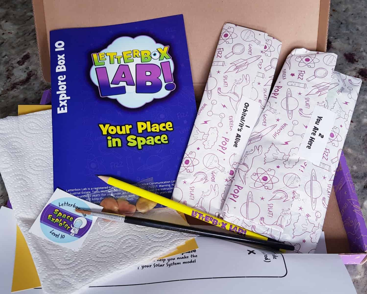 Letterbox Lab Explore Box 10 Your Place In Space