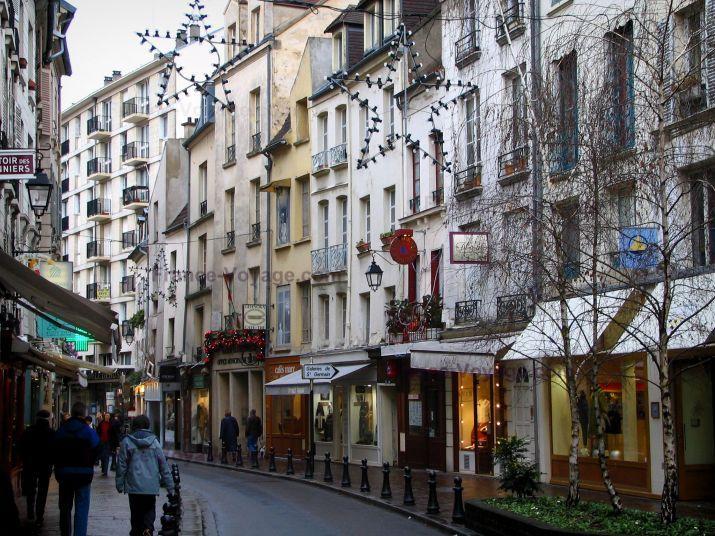 Saint germain en laye rue commer ante de la ville avec - La poste st germain en laye ...