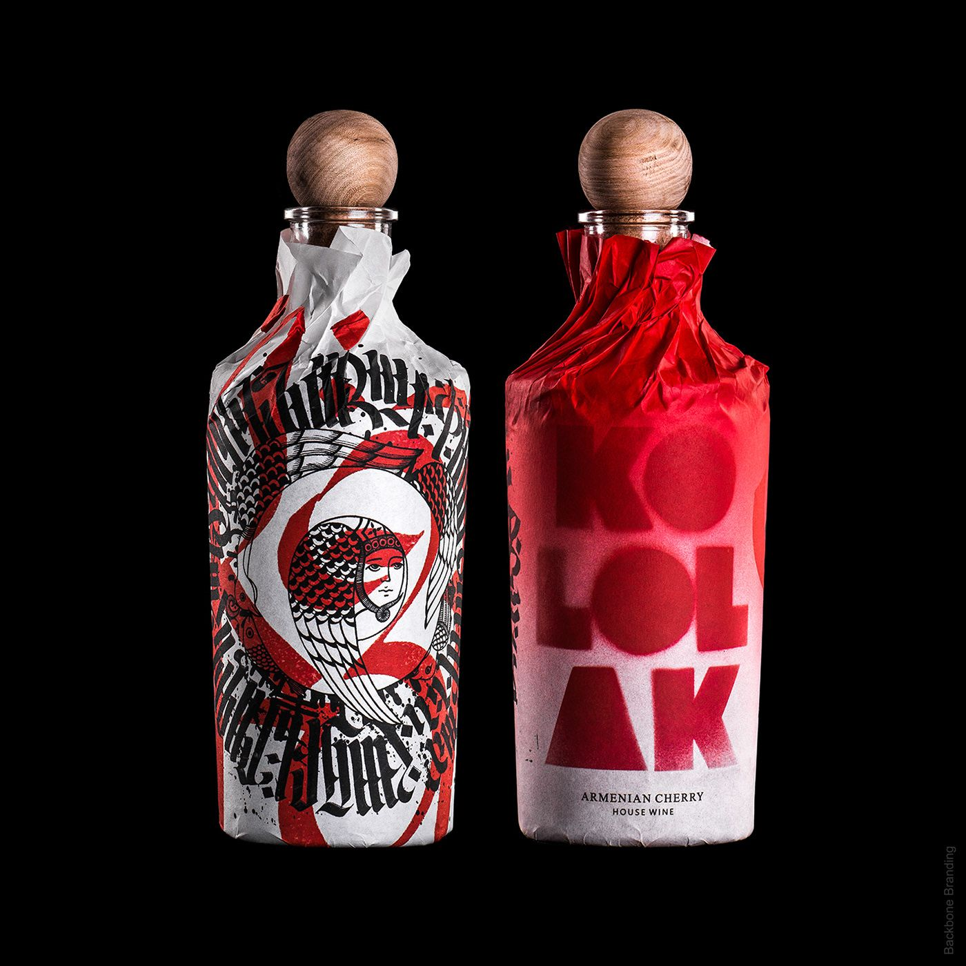 Kololak House Wine On Behance Wine Packaging Wine Label Design Packaging Design