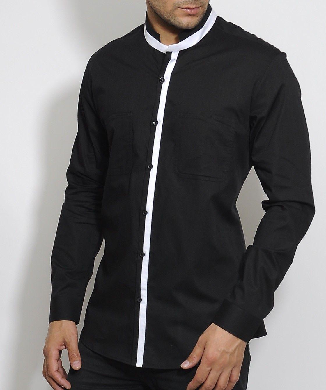 Nehru Collar Shirt T Shirts Design Concept