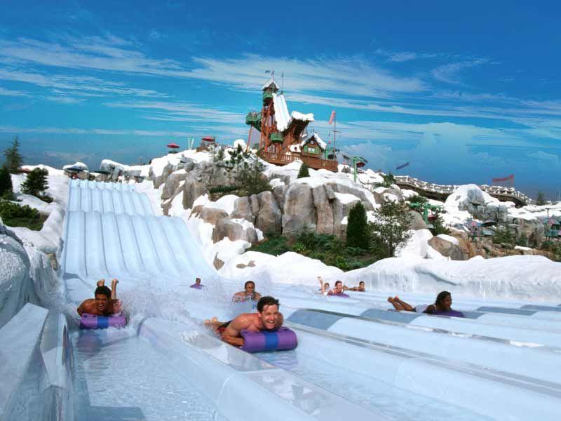 Parque De Atracciones Blizzard Beach Travel Viajes Florida