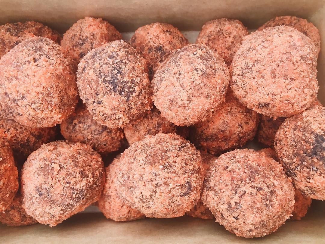 Choco Butternut Munchkins all the way! #dunkindonuts | Food ...