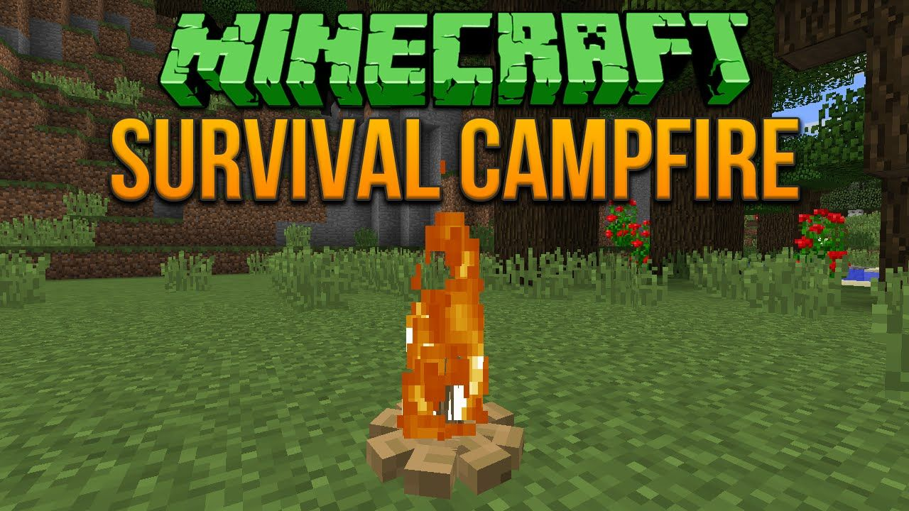 Minecraft 1.8 Survival Campfire Tutorial by xisumavoid