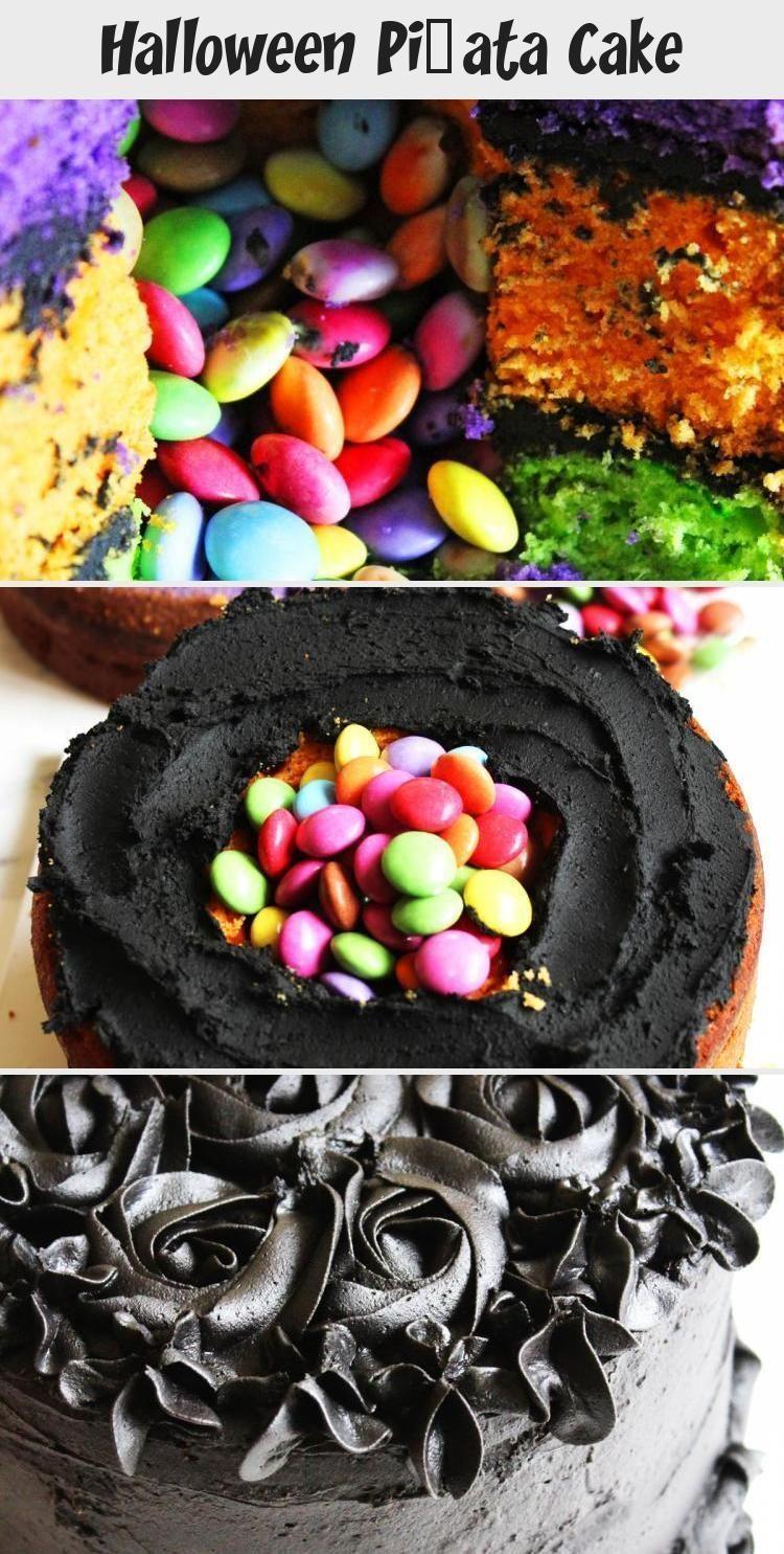 Photo of Halloween Pinata Kuchen vom Abendessen in den Vororten #PinataKuchenRezept #Pina…
