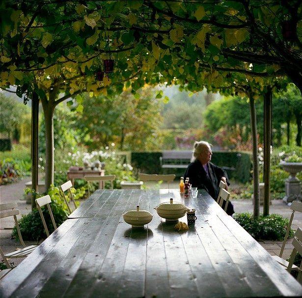 Structure, Grape Plants, Joan Gardens, Cities Gardens, Grape Pergolas