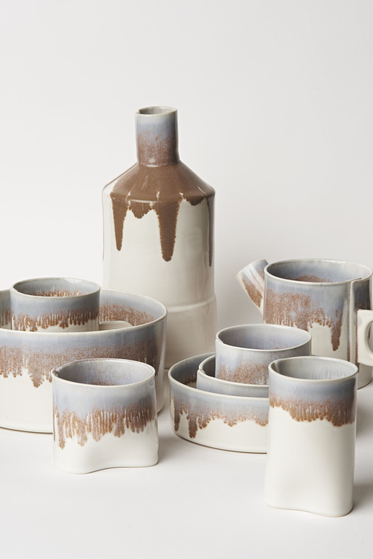 Ceramics sugar bowl set wilcox