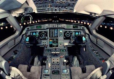 Gulfstream V (G5) Cockpit