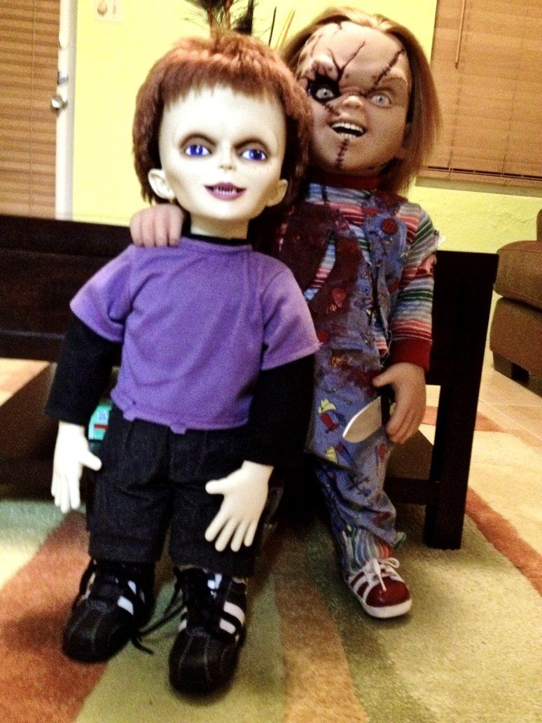 Afbeeldingsresultaat voor Chucky and Tiffany Dolls | Chucky And ...