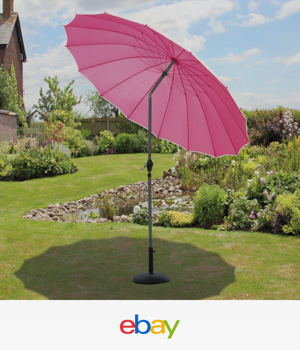 SunTime Outdoor Living Shanghai 9\' Market Umbrella