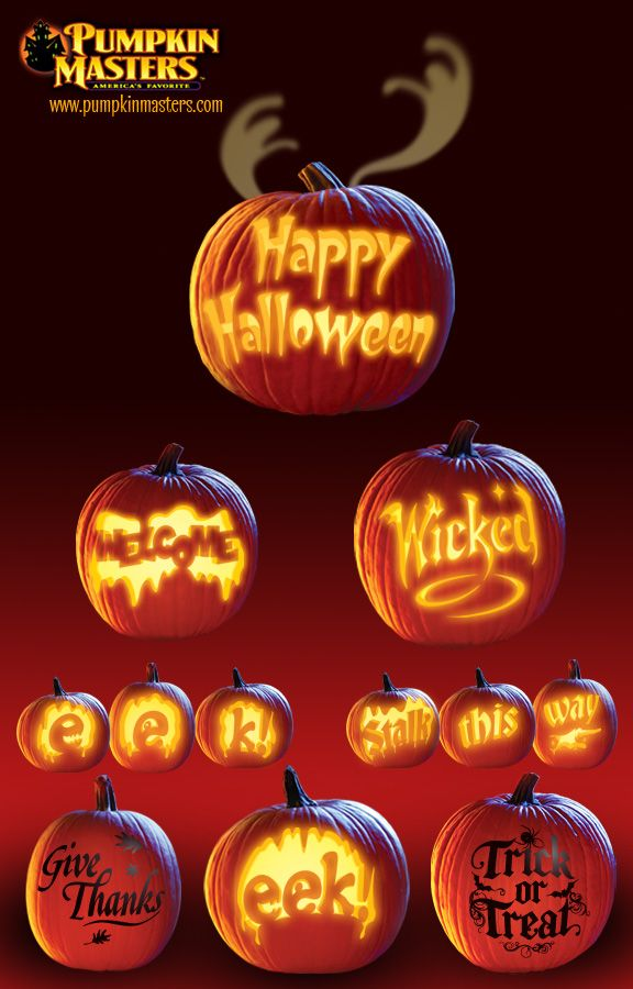 Sayings of the season patterns by pumpkin masters