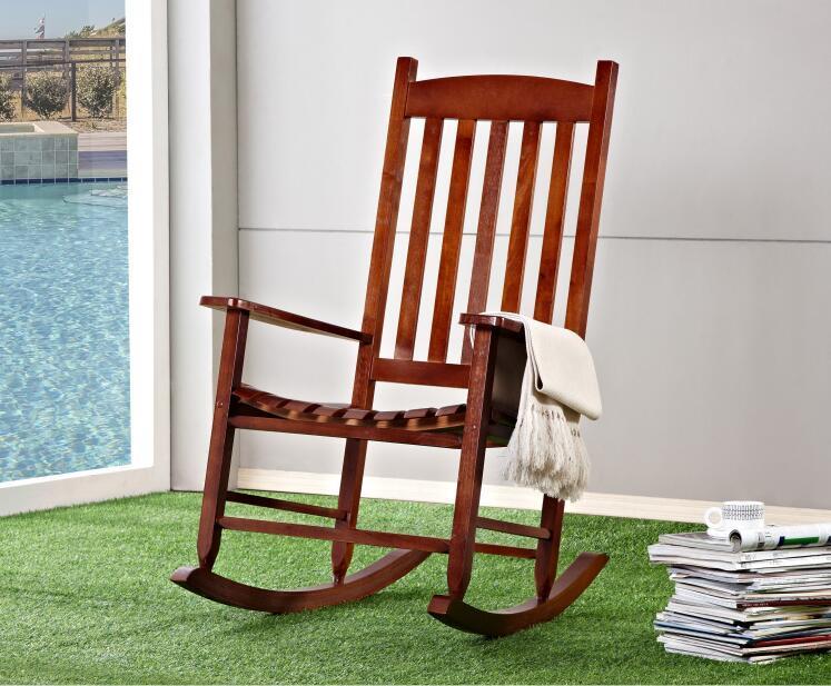 Magnificent Garden And Patio Wooden Rocking Chair Solid Wood Rocker Beatyapartments Chair Design Images Beatyapartmentscom