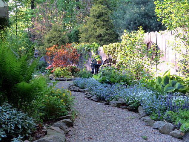 Marlene S Lovely Wooded Ohio Garden Garden In The Woods Shade Garden Beautiful Gardens
