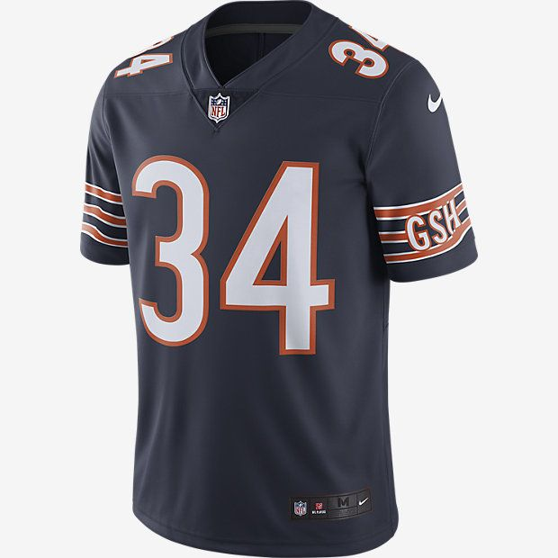 factory price a2812 e75bb NFL Chicago Bears Color Rush Limited Jersey (Walter Payton ...