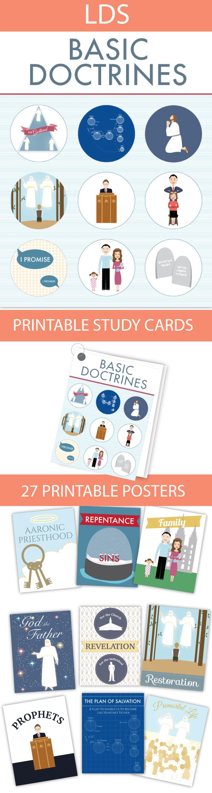 These are really great for seminary or family study! Tons of ideas ...