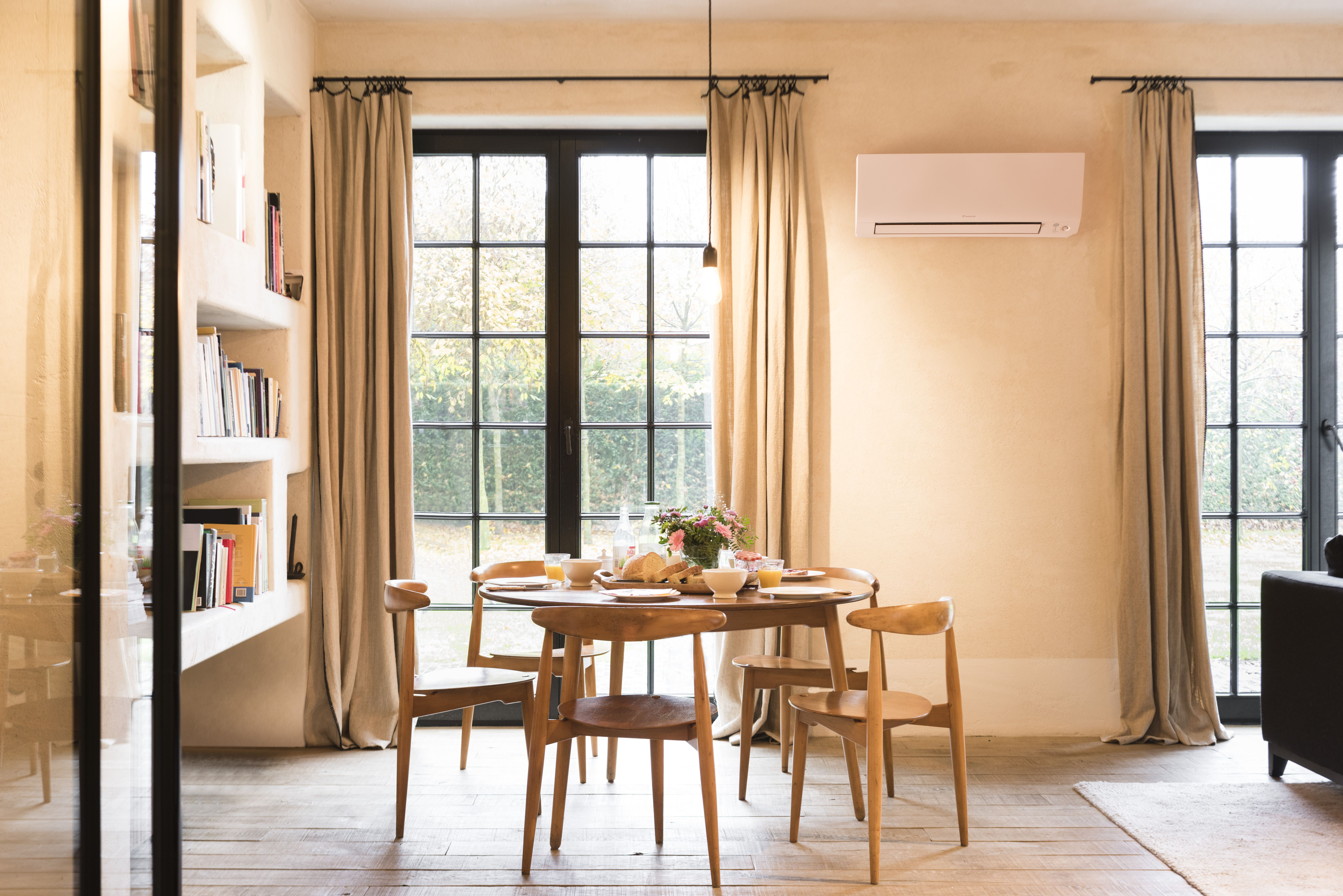 The Prefera wall mounted unit is a smart, safe and