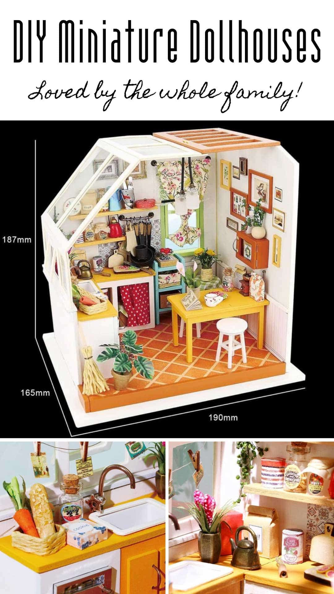 Build your own diy miniature dollhouse kits you need to