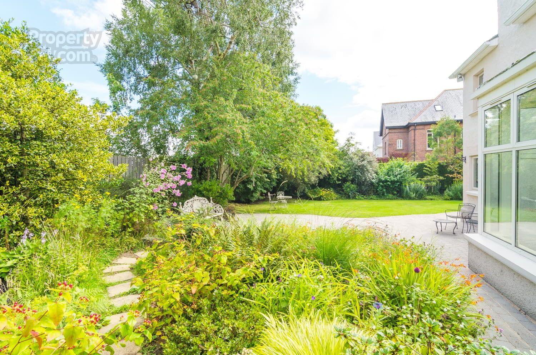 24 Deramore Park, Malone, Belfast garden Small garden