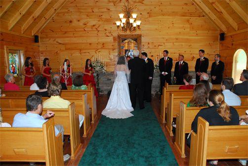 A Rustic Mountain Venue Gatlinburg S Little Log Wedding