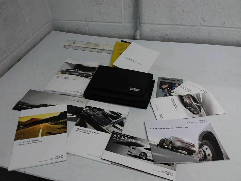 Ebay Sponsored A7 Audi 2014 Owners Manual 766382 Owners Manuals Audi Manual
