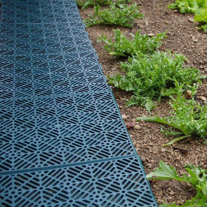 caillebotis modulables allée jardin | Allée de jardin | Pinterest ...