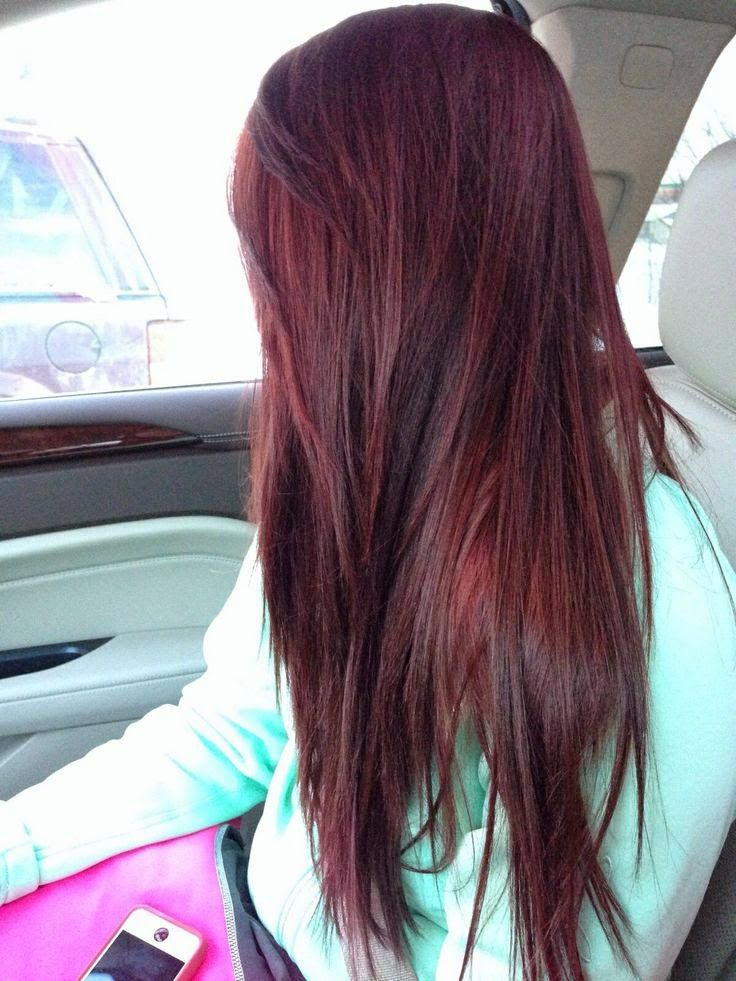 30 different ideas to change your look with hair highlights brown add a rich cherry or a brighter extension or two to your dark hairdark brown red cherry coke long hair colortry this black cherry pmusecretfo Image collections