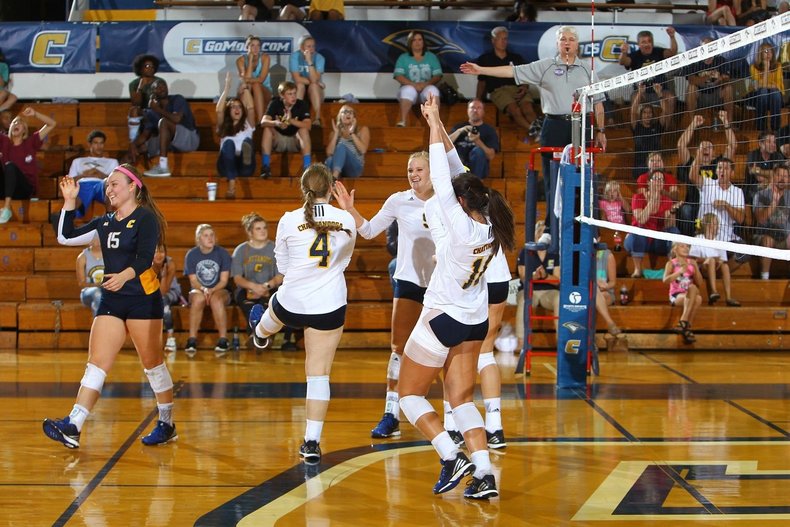 The University Of Tennessee At Chattanooga Volleyball Team Was Awarded The Avca Team Award For Academic Exce Volleyball News Volleyball University Of Tennessee