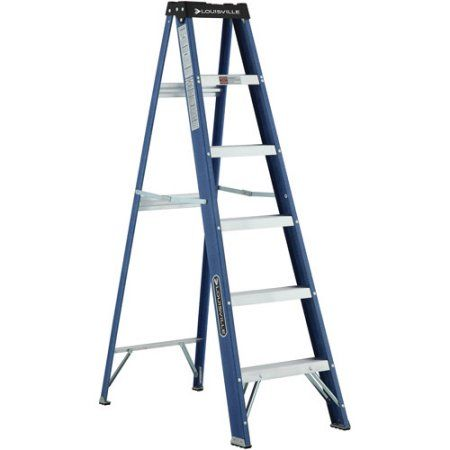 Home Improvement Step Ladders Ladder Fiberglass