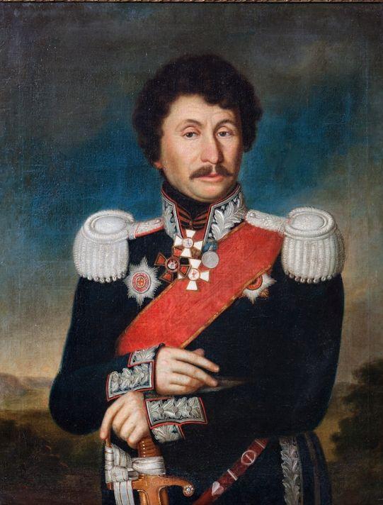 Портрет Н. Иловайского. Неизвестный художник. Первая четверть XIX в.