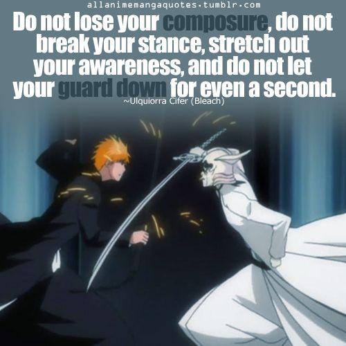 Bleach Anime Quote Bleach With Images Bleach Quotes Bleach