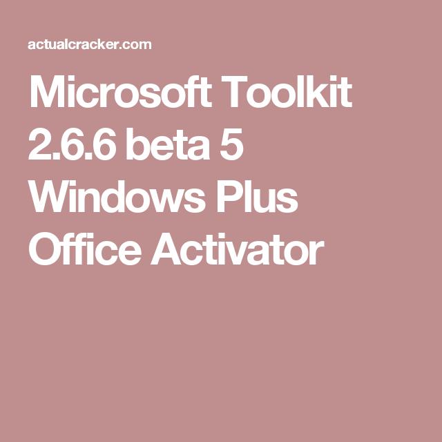 microsoft toolkit 2.7 beta