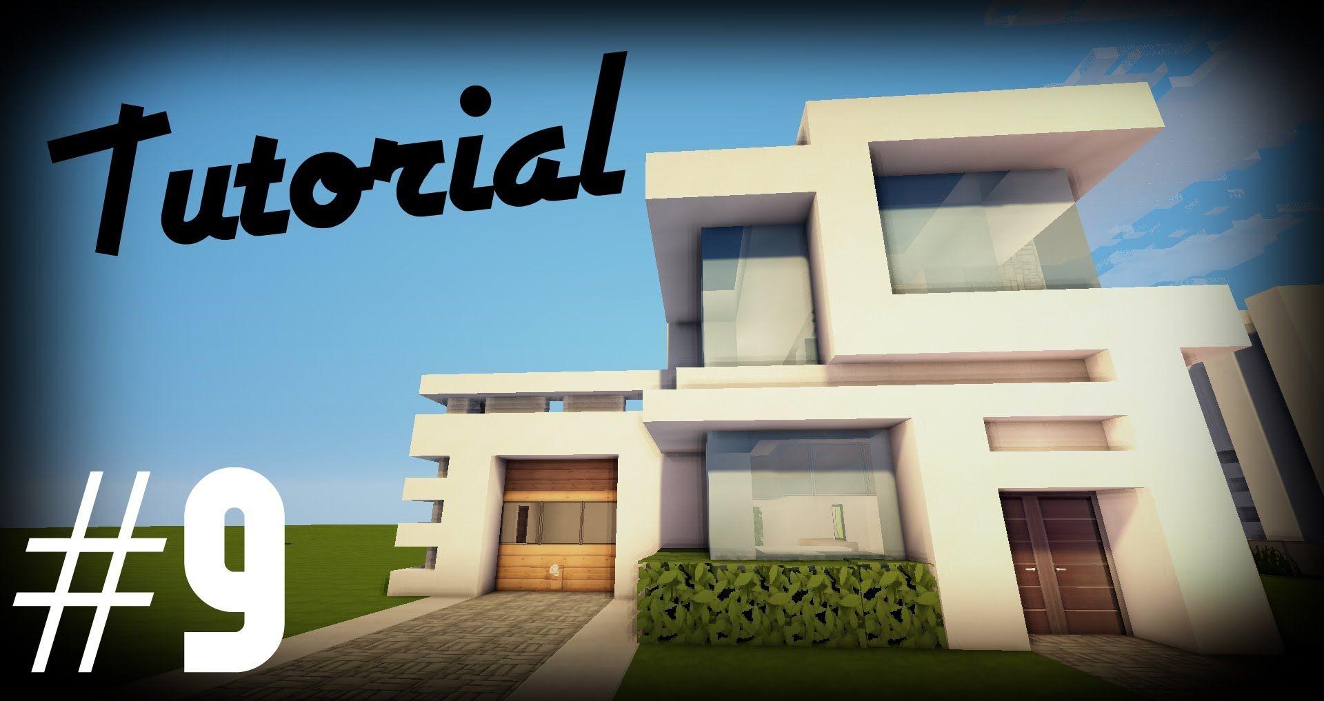 Minecraft: Como hacer una casa moderna | #9 - Tutoriales ...