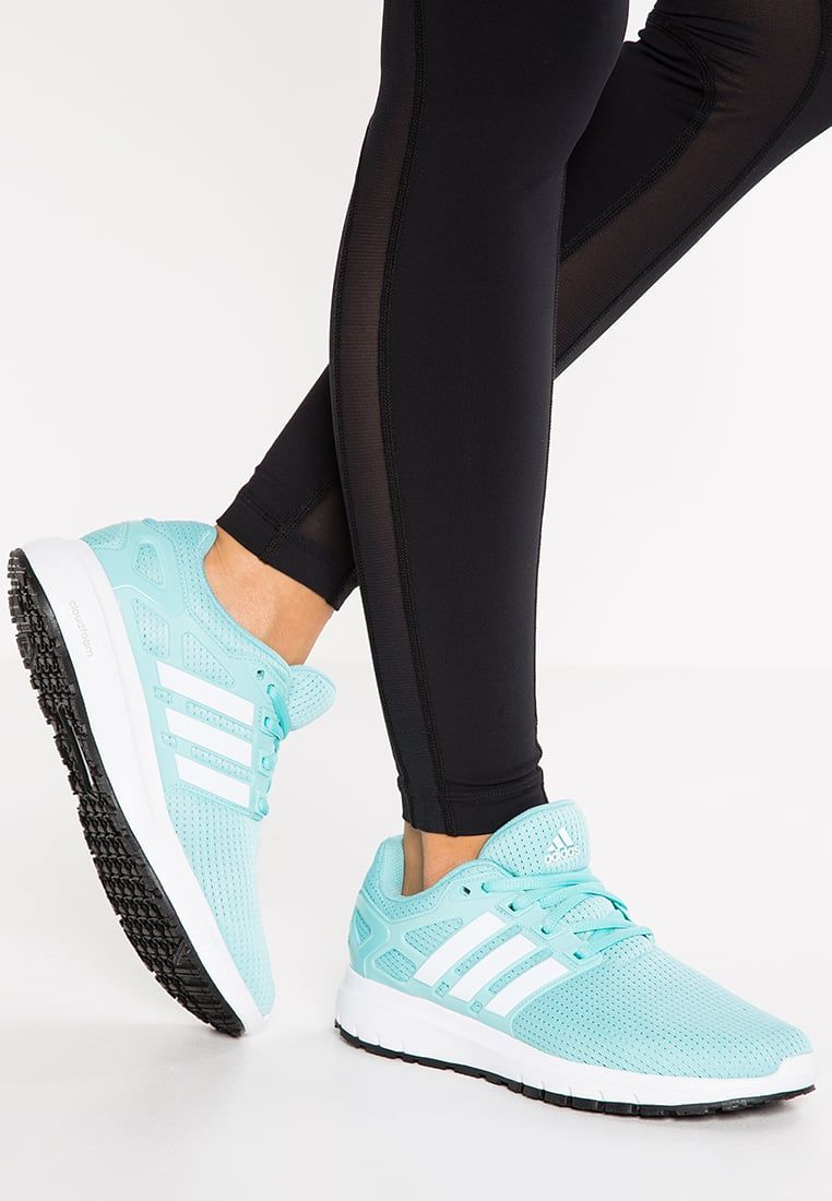 sale retailer 7dbe7 fbdd7 adidas Performance ENERGY CLOUD WTC - Neutral running shoes - easy mint whitecore