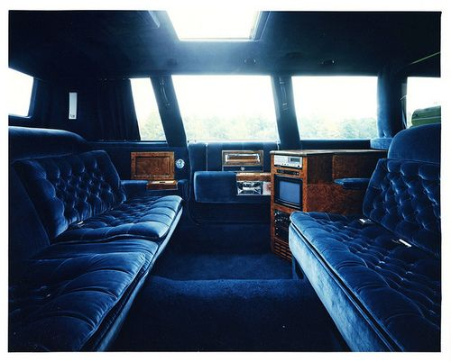 Presidential Limo Interior | 1987 Cadillac Presidential Limousine Concept Interior by...