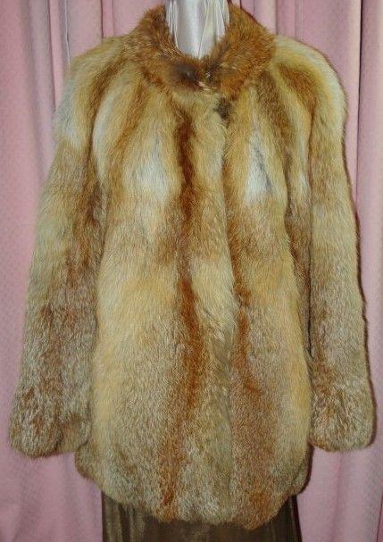 An Orginal Cornelius Fox Fur Coat. On my Website for $150 ...
