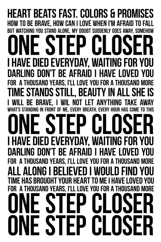 A Thousand Years Lyrics by Christina Perri - Twilight Saga ...