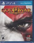 God of War III Remastered PS4 Sony PlayStation 4 Brand New Factory Sealed