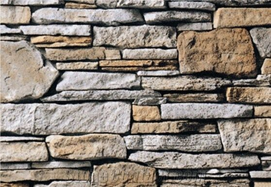 Artificial Stone,Manmade Stone, Wall Cladding Sto from China