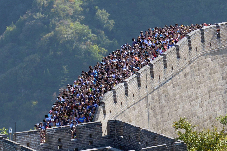 China Wall Images