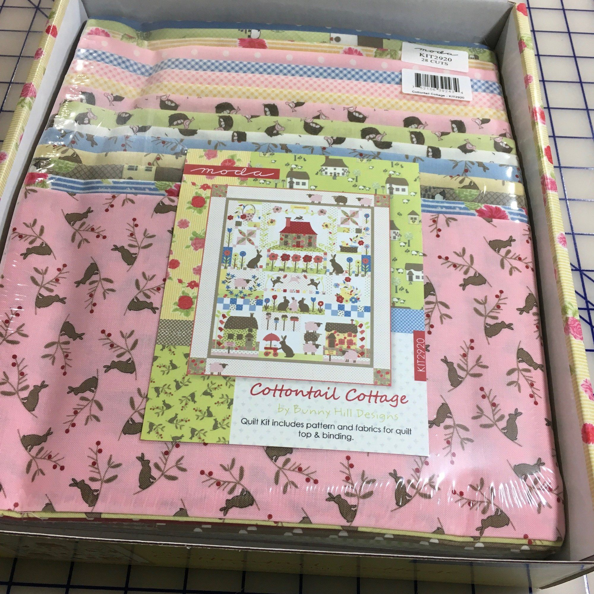 Cottontail Cottage Quilt Kit Bunny Hill Designs Moda Fabrics My Favorite Quilt Store My Favorite Quilt Patterns Quilt Kit Cottage Quilt Spring Quilts