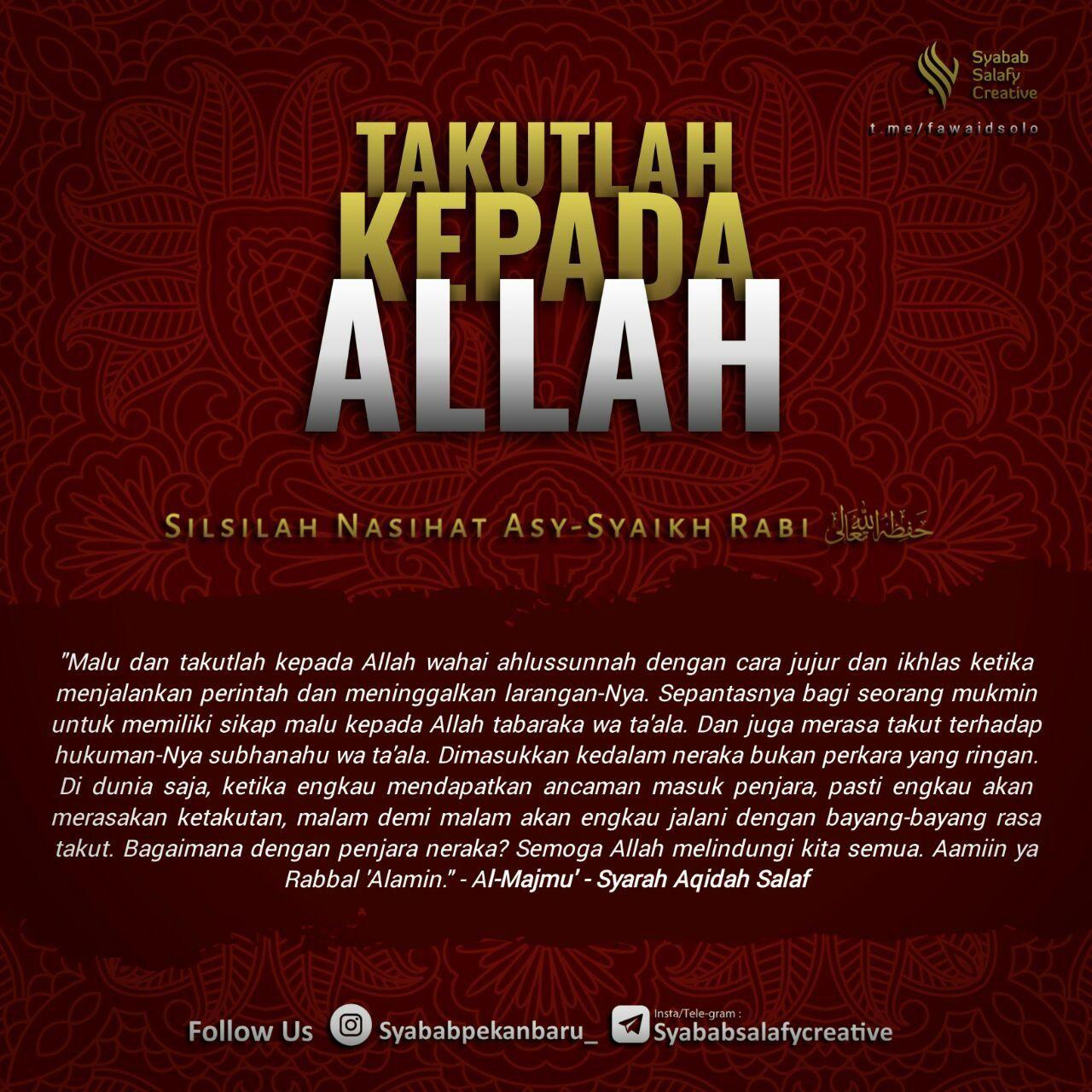 Pin oleh Seimma Nurul Prahikmahtin di Quran, Hadits, & Advices