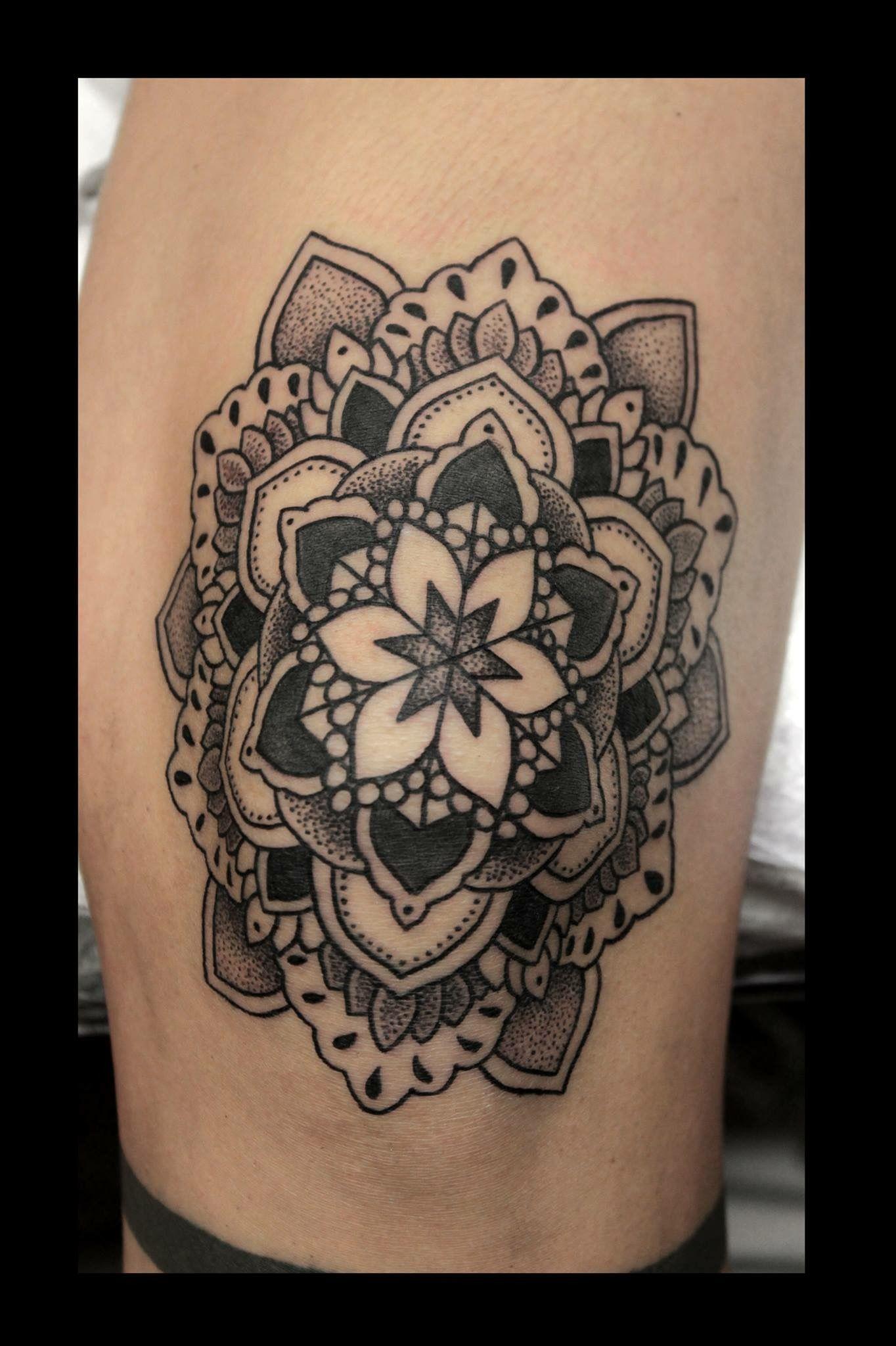 Custom tattoos by lady