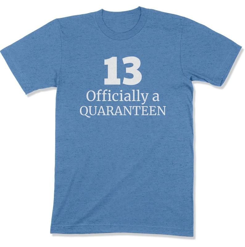 Officially a Quaranteen / 13 Year Old Birthday / 13 Year