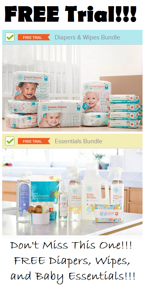 This Offer Is Back Honest Company Free Diapers Wipes And