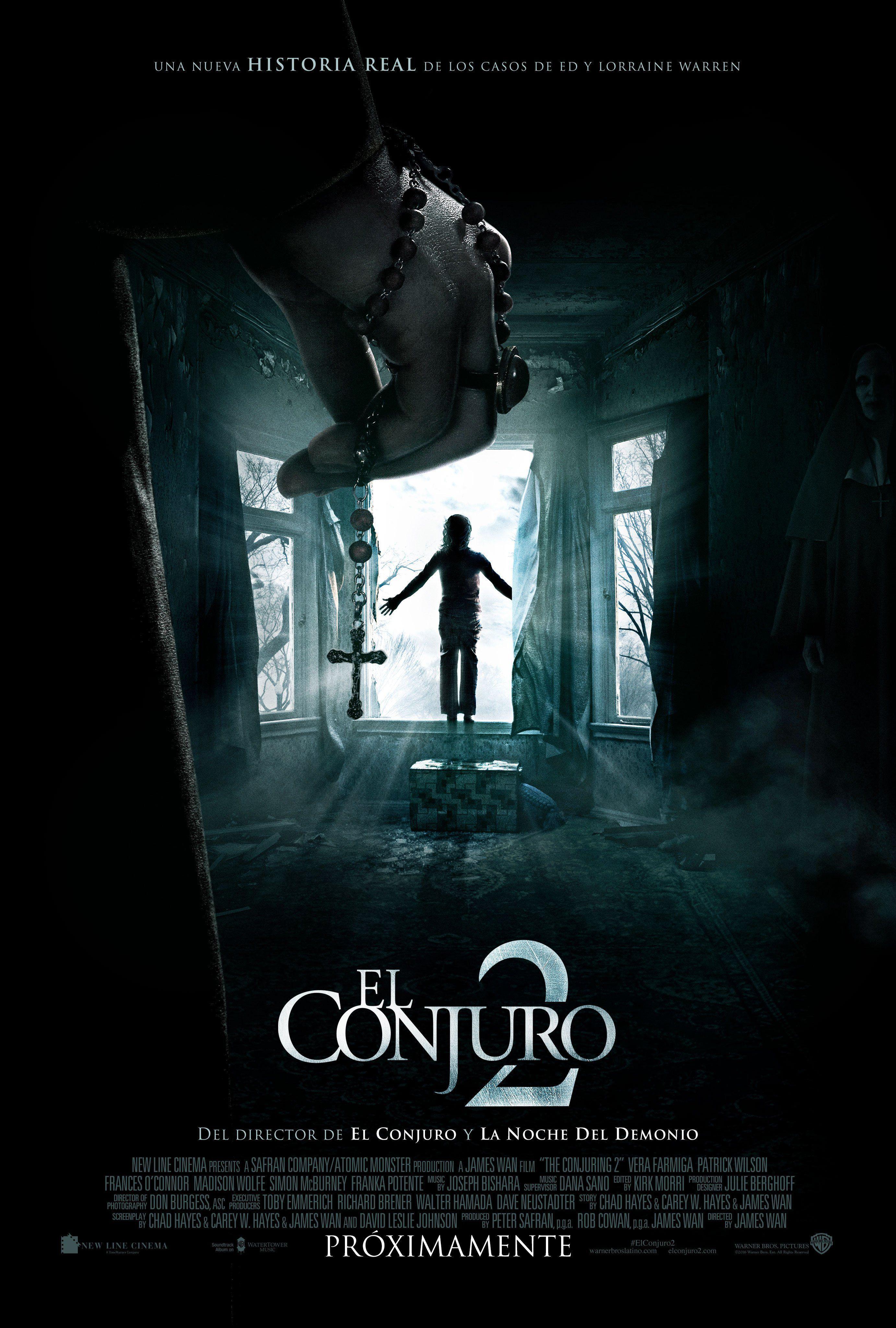 El Conjuro 2 Expediente Warren 2 Pelicula Completa Espanol Latino Hd The Conjuring Scary Movies Good Movies