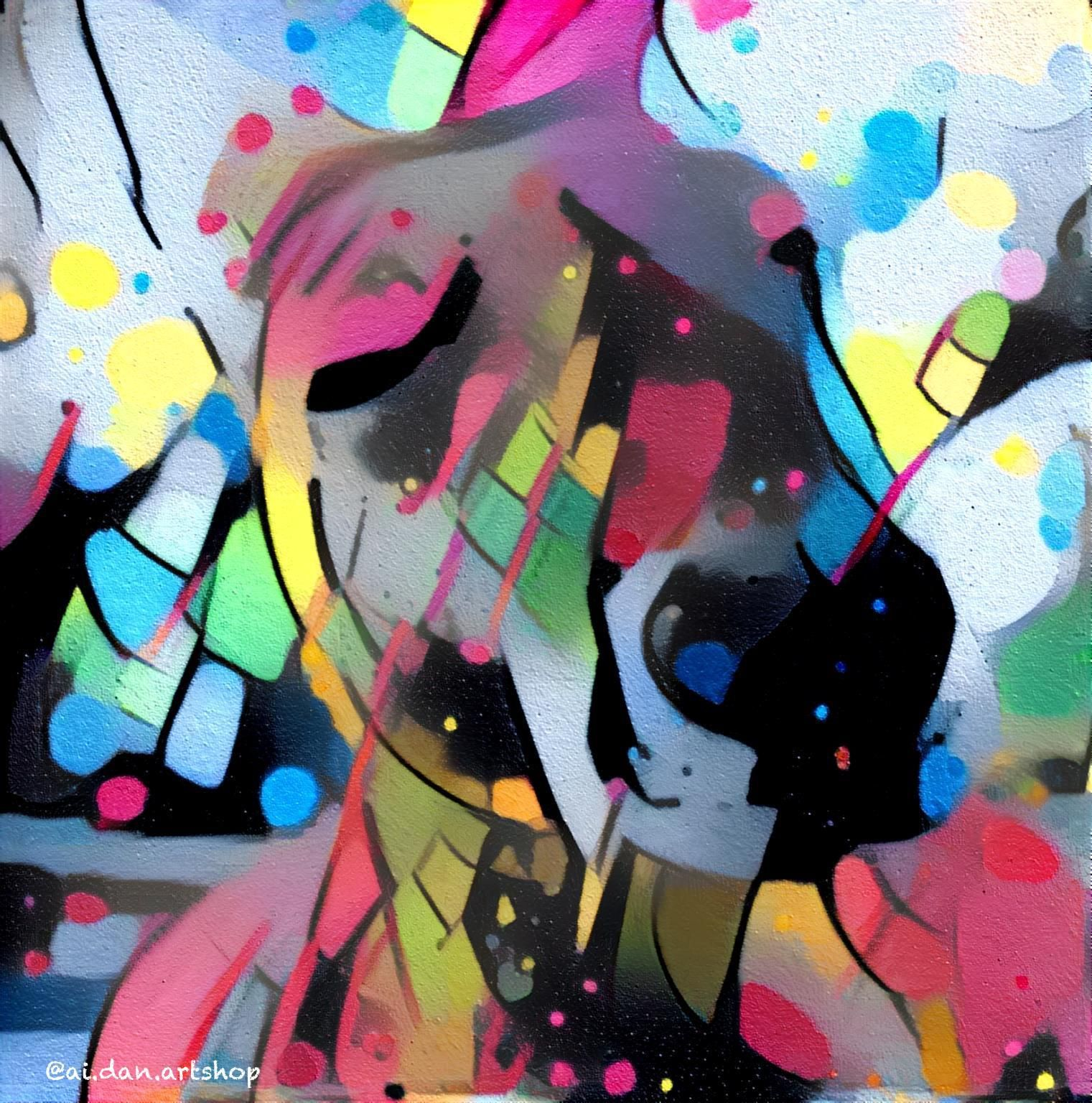 Kangaroovy digital graffiti iftvunzj art