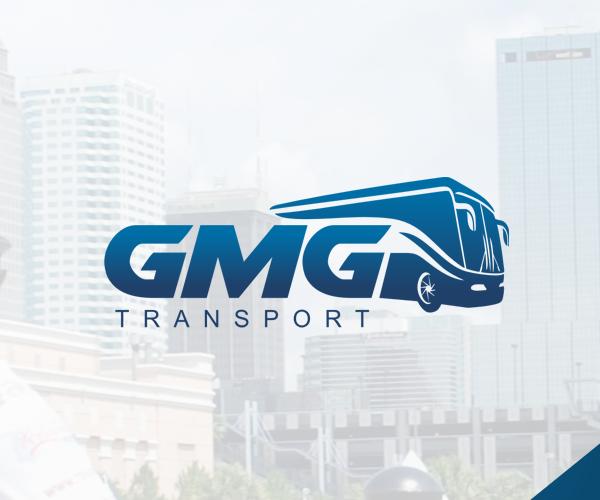 gmg transport bus logo design 30 logo design logo design logos