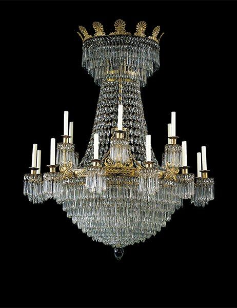 The most expensive antique chandeliers sold at auction pinterest 6 this early 19th century russian ormolu and cut glass chandelier was part of christies monacos april 28 2000 sale of the collection of fashion mozeypictures Images