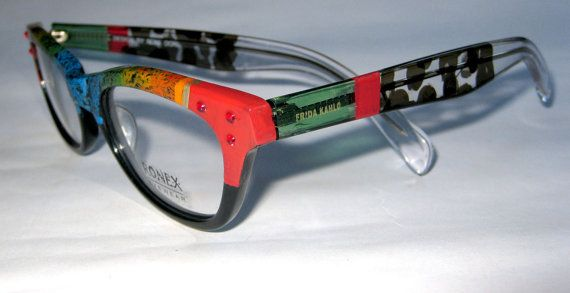 feaa0ca02c52 These colorful one of a kind beautiful hand painted frames by Roni Dori- Ronex Eyewear | Roni Dori- Ronex Hand Painted Art Design Optics. | Sunglass  frames ...