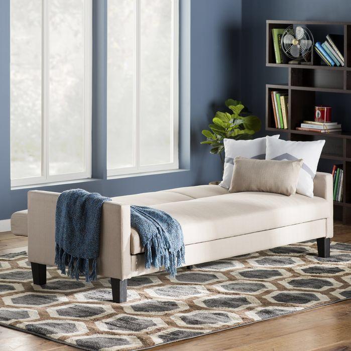 Hudson Sleeper Sofa - Canapé convertible scandinave pour noël deco chambre femme