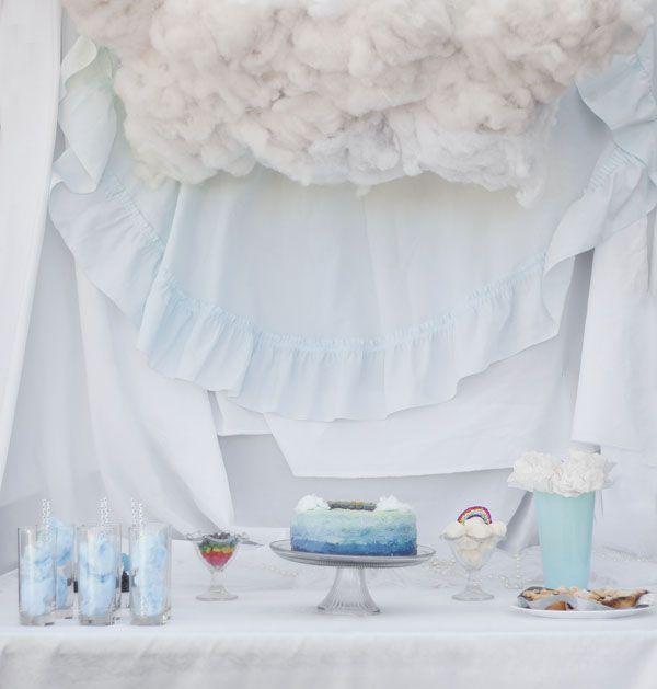 Polkadots Parties: Kaytlyn's Cloud Birthday
